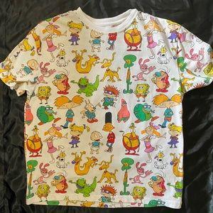 Nickelodeon character shirt